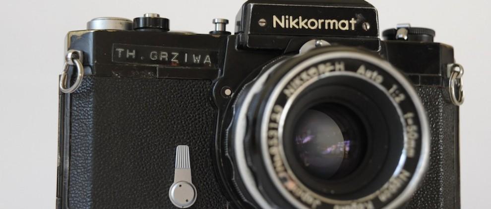 Meine erste ... Jetzt habe ich sie wieder gefunden, in einem traurigen Zustand ... (Foto: Thomas Grziwa / www.DocuMoments.de)